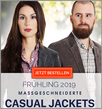 Casual Blazer, Veston und Jacket
